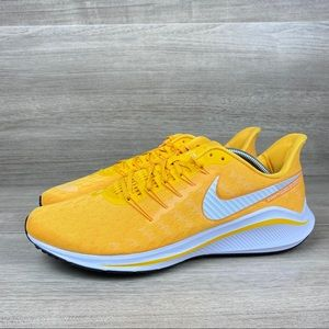 Nike Air Zoom Vomero 14 Yellow White Running Shoes